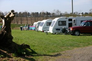 The Farm Burscough campsite field