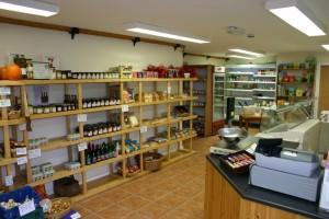 The Farm Burscough shop interior